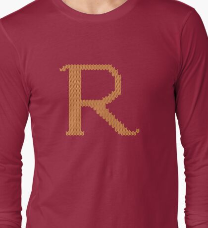 R's Christmas Sweater Long Sleeve T-Shirt