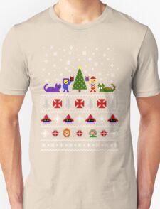 80s Christmas Sweater + Card Unisex T-Shirt