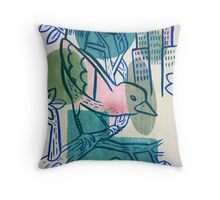 City Tweets Throw Pillow