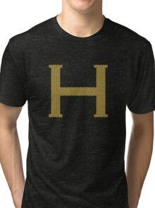 H's Christmas Sweater Tri-blend T-Shirt