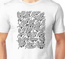Black Olive Branches Unisex T-Shirt
