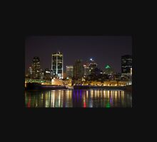 Montreal Old Port at night Unisex T-Shirt