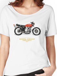 HONDA CB400F SUPERSPORT YOSHIMURA Women's Relaxed Fit T-Shirt