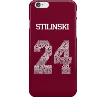 """Stiles """"Quote"""" Jersey (UPDATED) iPhone Case/Skin"""