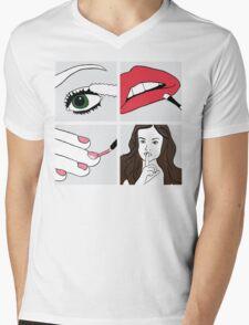 Pretty Little Liars Mens V-Neck T-Shirt