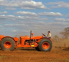 """""""ONE BIG MOTHER"""" TRACTOR by Helen Akerstrom Photography"""