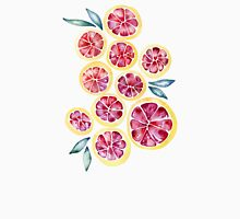 Sliced Grapefruits Watercolor T-Shirt