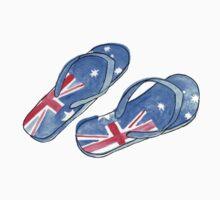 Aussie Feet Kids Tee