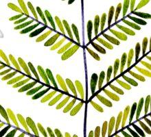 Green Leaflets Sticker