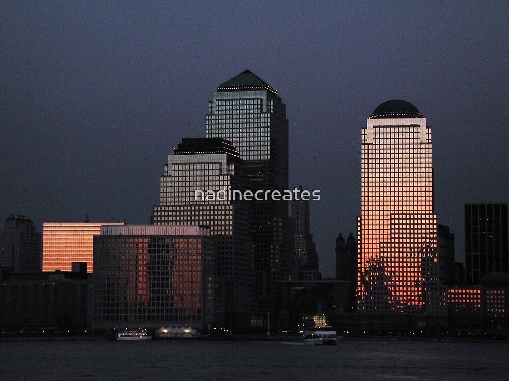 Cityscape by nadinecreates