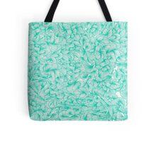 Knee-Deep in Turquoise Ink Tote Bag