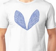 Navy Cicada Wings Unisex T-Shirt