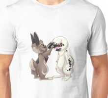 Two Cute Bunny Rabbits Unisex T-Shirt