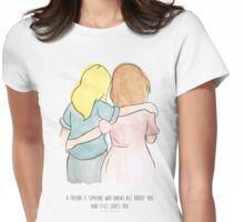 Friend Love Womens Fitted T-Shirt