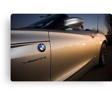 BMW Z4 sDrive35i Roadster Docklands Sunset Canvas Print