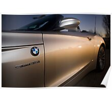 BMW Z4 sDrive35i Roadster Docklands Sunset Poster