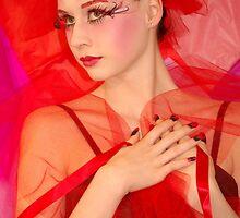Fantasy red by Stephanie Veronique