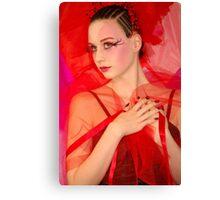 Fantasy red Canvas Print