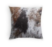 Appaloosa Spots on Stallion Throw Pillow