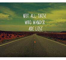 Wander Photographic Print
