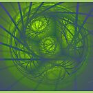 Inner Light Spiral Sanctums by Deborah  Benoit