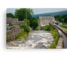 Gayle Mill - Hawes Canvas Print