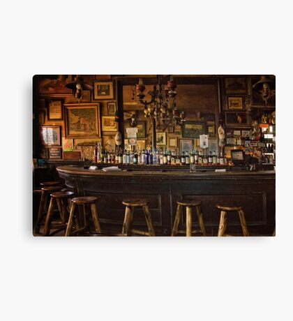 Nevada's Oldest Thirst Parlor Canvas Print