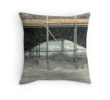 The Scaffold Series....The Exit Throw Pillow