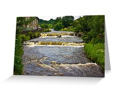 Gayle Mill Force (Gayle Beck) - Hawes Greeting Card