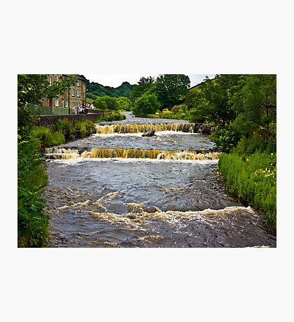 Gayle Mill Force (Gayle Beck) - Hawes Photographic Print
