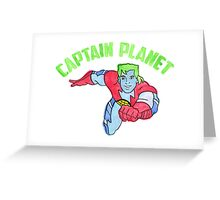 Captain Planet  Greeting Card