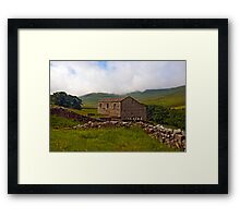 Dales Stone Barn Framed Print