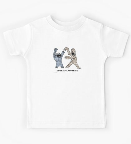 Cookie Vs. Wookiee Kids Tee