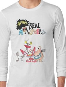 Real Monsters! Long Sleeve T-Shirt