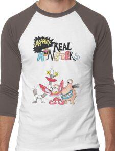 Real Monsters! Men's Baseball ¾ T-Shirt