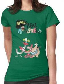 Real Monsters! Womens Fitted T-Shirt