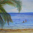 Bamboo Beach, Ocho Rios by Sandy Sparks