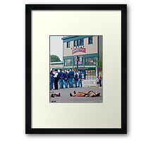 The General Store Framed Print