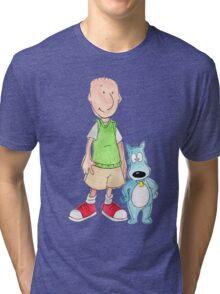 Doug and Porkchop Tri-blend T-Shirt