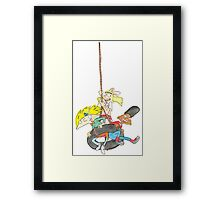 Arnold, Gerald and Helga Framed Print