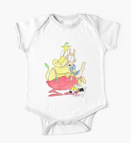 Rocko, Heffer and Spunky One Piece - Short Sleeve
