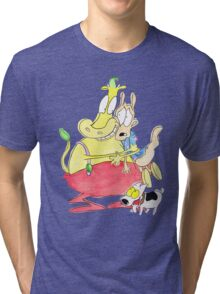 Rocko, Heffer and Spunky Tri-blend T-Shirt