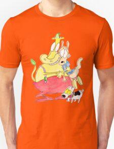 Rocko, Heffer and Spunky Unisex T-Shirt