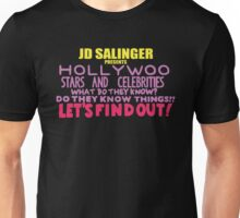 Hollywoo Stars And Celebrities Do They Know Things? Unisex T-Shirt