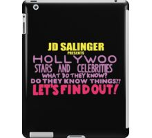 Hollywoo Stars And Celebrities Do They Know Things? iPad Case/Skin