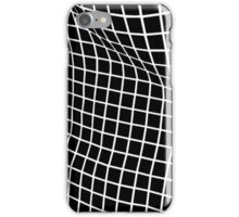 Black Wavy Grid Case iPhone Case/Skin