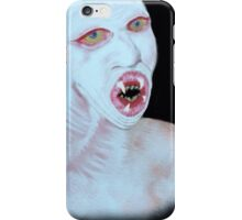 The Flukeman from The X Files  iPhone Case/Skin
