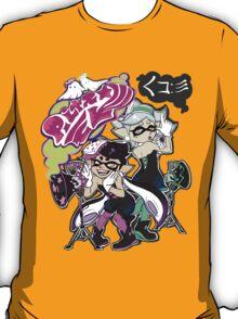 Squid Sisters Splatfest Tour Shirt T-Shirt