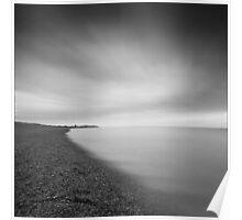 Aldeburgh Beach at Dawn, Suffolk Poster