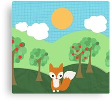 Mr.Fox Canvas Print